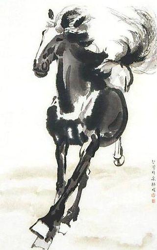 XuBeihong-Pferd
