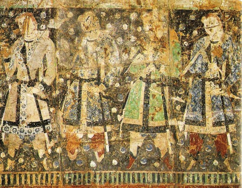 tang dynasty times: The Persian Prince Pirooz
