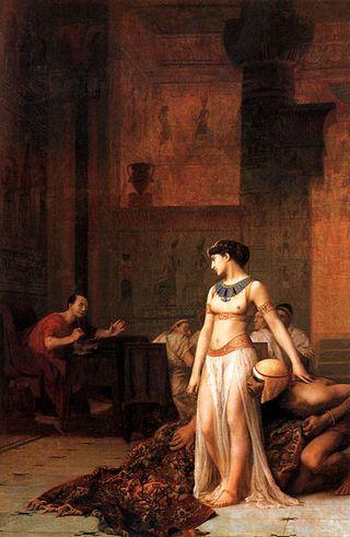 390px-Jean-LeonGerome1824-1904Cleopatra_before_Caesar1866Oiloncanvas