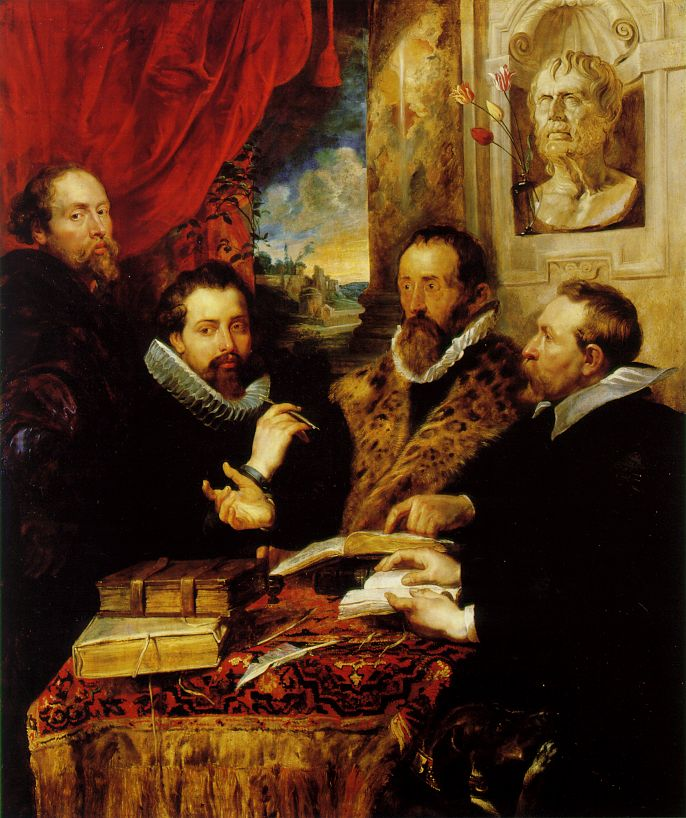 Self-Portrait_with_Justus_Lipsius,_Philip_Rubens_and_Jan_Wowerius_known_as_The_Four_Philosophers(1611~12)