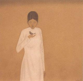 Hong Viet Dung (Girl with bird)