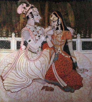 Radha Krishna, small