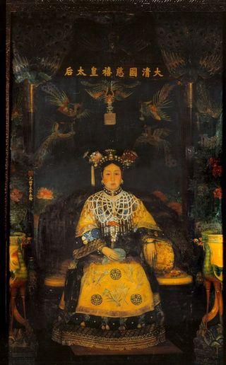 Cixi's portrait