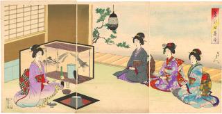 Yōshū_Chikanobu_Cha_no_yu