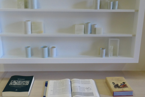 Books and pots
