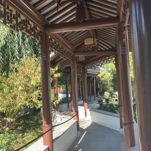 Lotus walkway