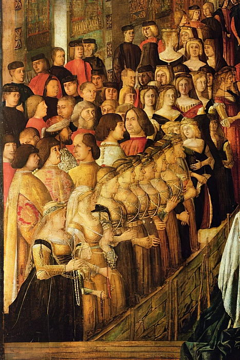 Gentile_Bellini_-_The_Miracle_of_the_Cross_on_San_Lorenzo_Bridge_detail_of_Caterina_Cornaro_1454-1_-_(MeisterDrucke-354416)