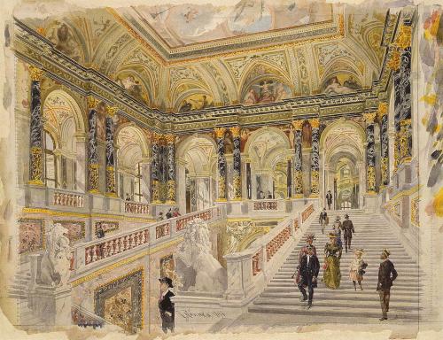 Raschka–Staircase_Kunsthistorisches_Museum _Vienna _1891
